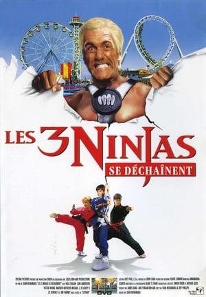 Affiche Ninja Kids 4 : Les 3 Ninjas se déchaînent