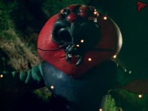 Kamen Rider Season 1 :Episode 70  Monster Electric-Guitarbotal's Fireball Attack