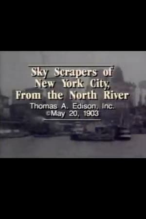 Skyscrapers of New York City, from the North River