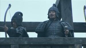 Cao Cao burns the supply depot at Wuchao