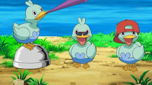 Pokémon Season 14 :Episode 20  Dancing with the Ducklett Trio!