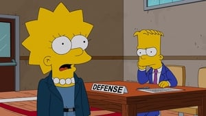 The Simpsons Season 24 :Episode 16  Dark Knight Court