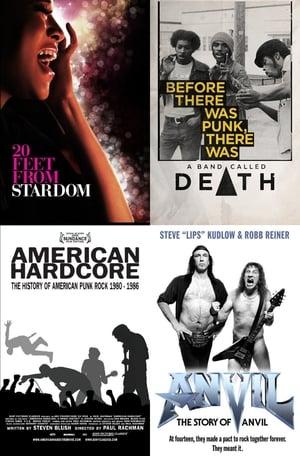music-documentaries poster
