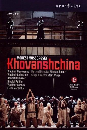 Poster of Khovanshchina