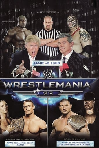 Poster of WWE WrestleMania 23