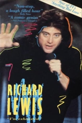 Poster of Richard Lewis: I'm Exhausted