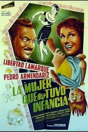 Poster of La mujer que no tuvo infancia