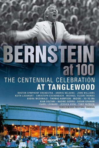 Poster of Leonard Bernstein Centennial Celebration at Tanglewood