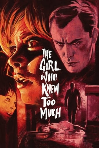 Poster of The Girl Who Knew Too Much