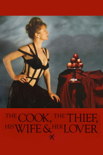 Poster of The Cook, the Thief, His Wife & Her Lover