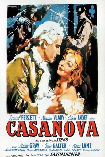 Poster of Adventures of Giacomo Casanova