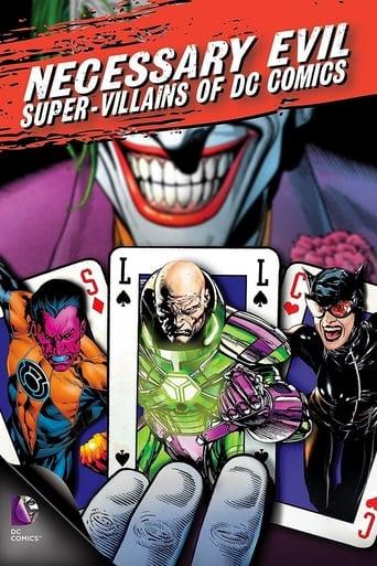 Poster of Necessary Evil: Super-Villains of DC Comics