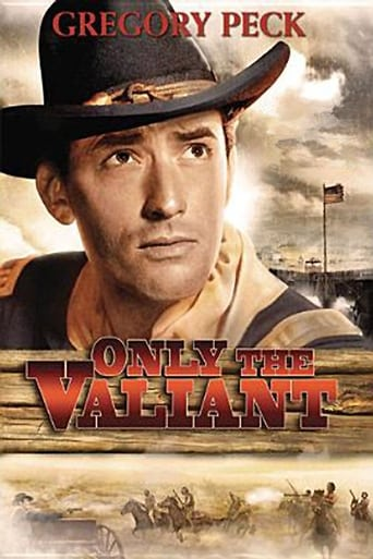 Poster of Only the Valiant