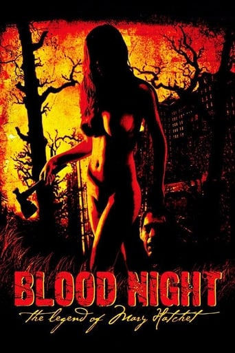 Poster of Blood Night: The Legend of Mary Hatchet