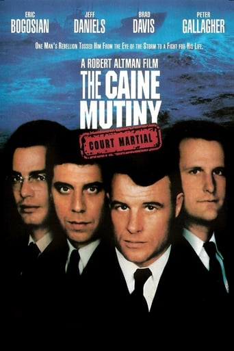 Poster of The Caine Mutiny Court-Martial