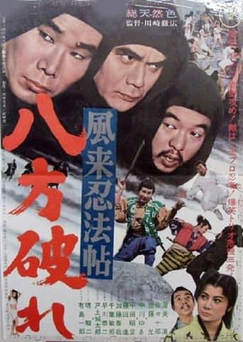 Poster of 風来忍法帖 八方破れ