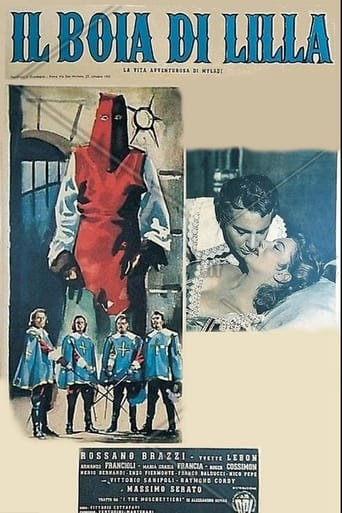 Poster of Milady and the Musketeers