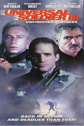 Poster of Universal Soldier III: Unfinished Business