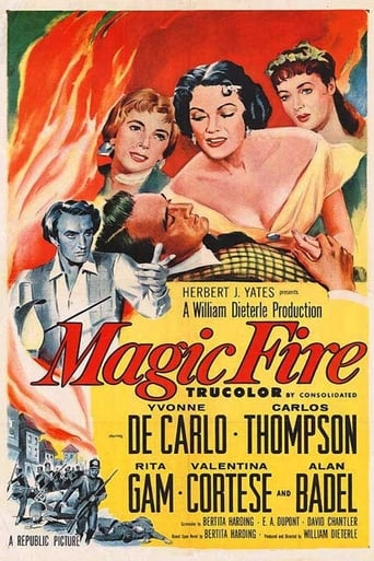 Poster of Magic Fire