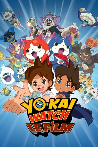 Poster of Yo-kai Watch: Enma Daiō to Itsutsu no Monogatari da Nyan!