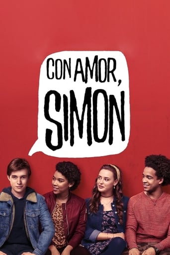 Poster of Con amor, Simon