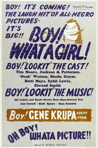 Poster of Boy! What a Girl!