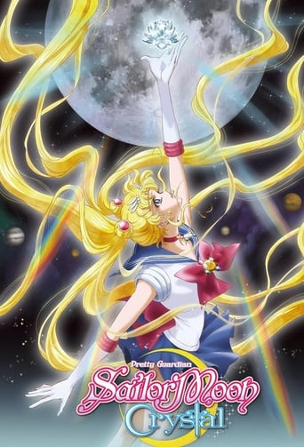 Poster of Sailor Moon Crystal
