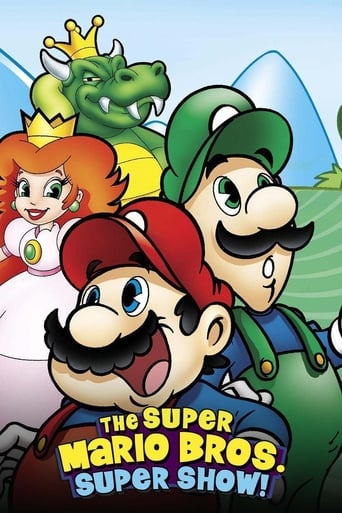 Poster of The Super Mario Bros. Super Show!