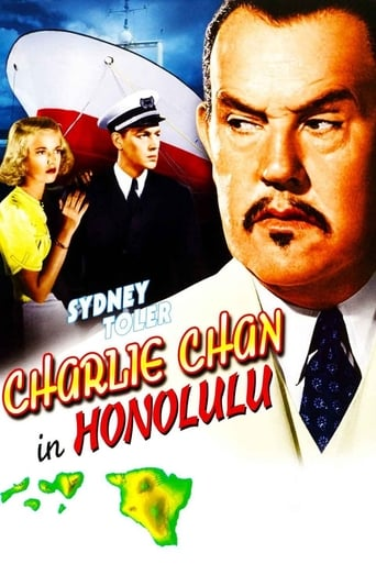 Poster of Charlie Chan in Honolulu