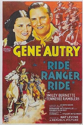Poster of Ride, Ranger, Ride