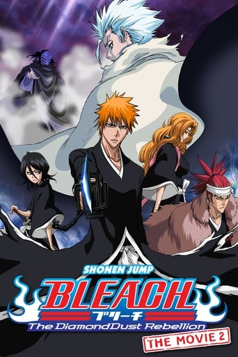 Poster of Bleach the Movie: The DiamondDust Rebellion