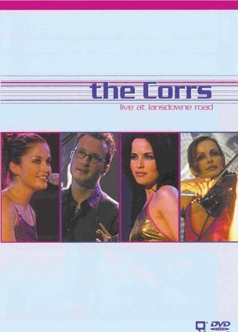 Poster of The Corrs Live at Lansdowne Road
