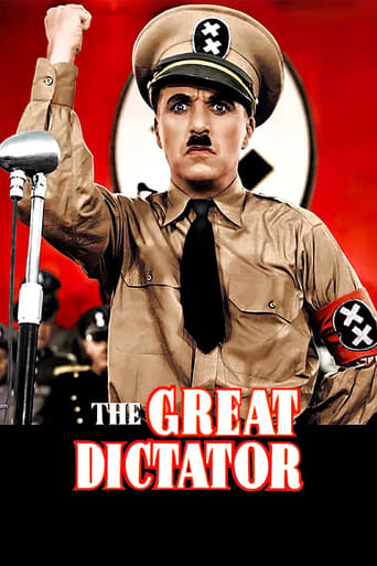 Poster of The Great Dictator