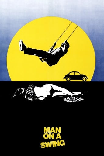 Poster of Man on a Swing