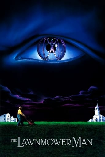 Poster of The Lawnmower Man