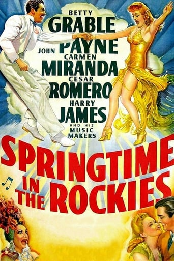 Poster of Springtime in the Rockies