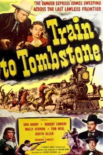 Poster of Train To Tombstone