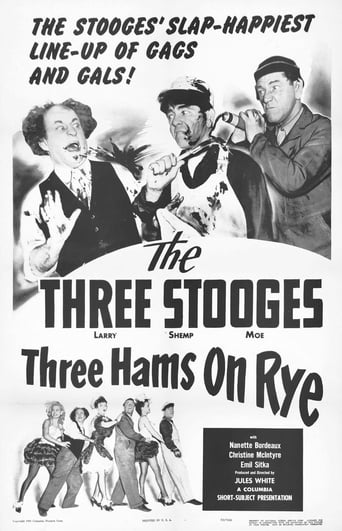 Poster of Three Hams On Rye