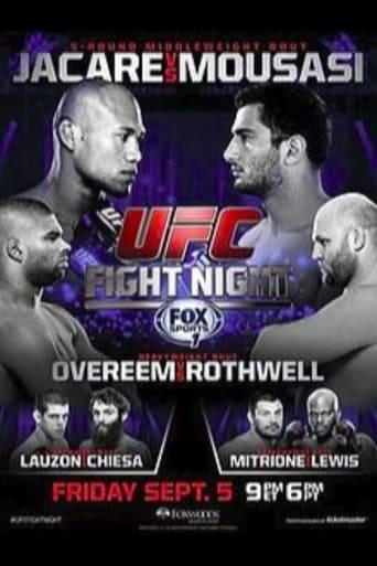 UFC Fight Night 50: Jacare vs. Mousasi
