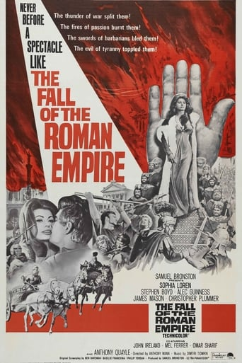 Poster of The Fall of the Roman Empire