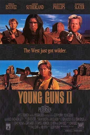 Poster of Young Guns II