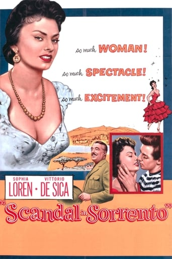 Poster of Scandal in Sorrento