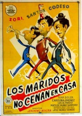 Poster of Los maridos no cenan en casa
