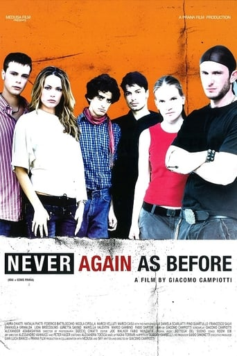 Poster of Never Again as Before