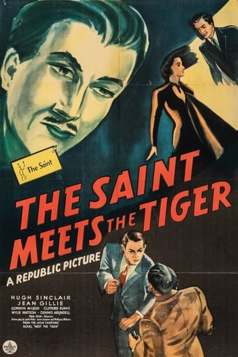 Poster of The Saint Meets the Tiger