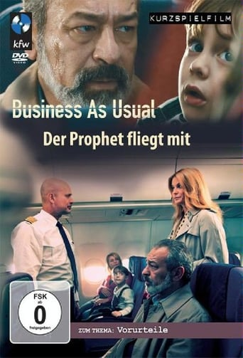 Poster of Business as Usual - Der Prophet fliegt mit