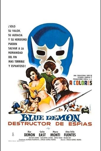 Poster of Blue Demon destructor de espías