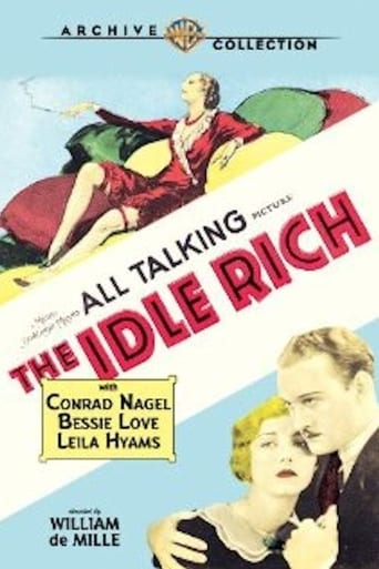 Poster of The Idle Rich