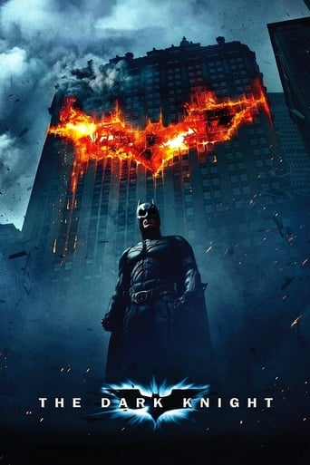 Poster of The Dark Knight, Le Chevalier noir