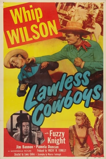 Poster of Lawless Cowboys